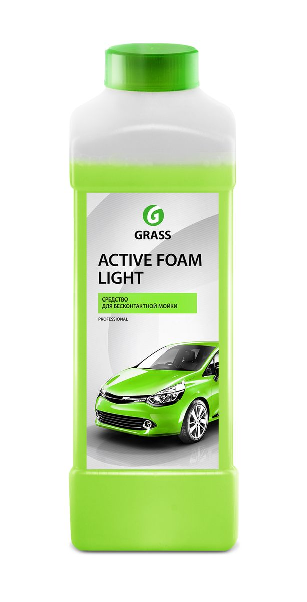 Активная пена Grass Active Foam Light, 1 лRC-100BWCАктивная пена Grass Active Foam Light - это концентрированное слабощелочное средство для бесконтактной мойки автотранспорта. Без труда удаляет дорожную пыль, грязь, масло, следы от насекомых. Легко смывается с поверхности, не причиняя вреда покрытиям из сплавов цветных металлов. Идеально подходит для мойки автомобиля в летний период. Содержит антикоррозионные добавки. Перед нанесением средство необходимо разбавить с водой из расчета 1:20-1:50 (20-50 г/л) для пеногенератора или 1:1-1:2 (300-500 г) в пенокомплект (1 л). Товар сертифицирован.