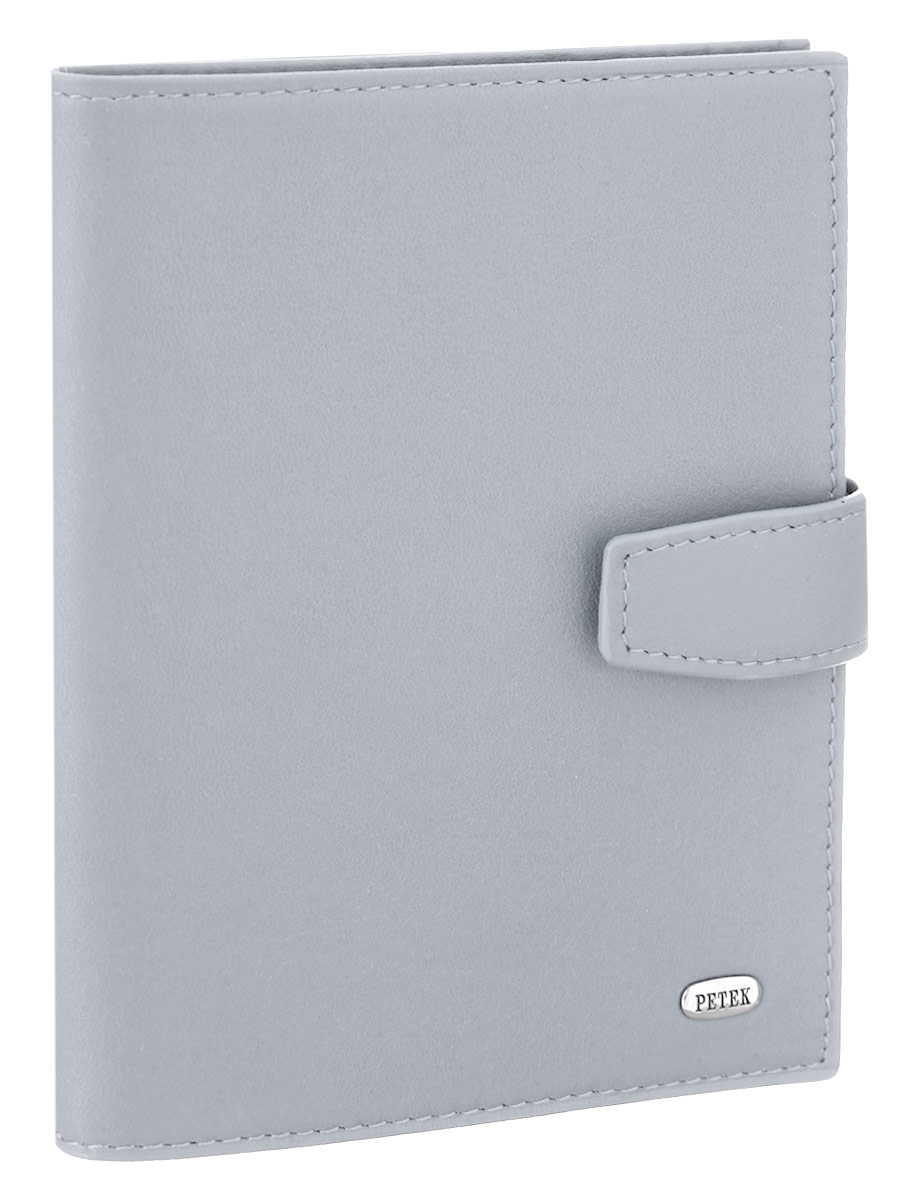 Обложка для паспорта и автодокументов Petek 1855, цвет: серый. 595.167.90AUTOZAM278Обложка для паспорта и автодокументов Petek 1855 выполнена из натуральной кожи. Внутри имеет отделение для паспорта, два боковых сетчатых кармана и съемный блок из шести прозрачных файлов из мягкого пластика, один из которых формата А5. Обложка закрывается на хлястик с кнопкой.Обложка упакована в фирменную коробку. Изделие сочетает в себе классический дизайн и функциональность. Обложка не только поможет сохранить внешний вид ваших документов и защитит их от повреждений, но и станет стильным аксессуаром, который подчеркнет ваш неповторимый стиль.