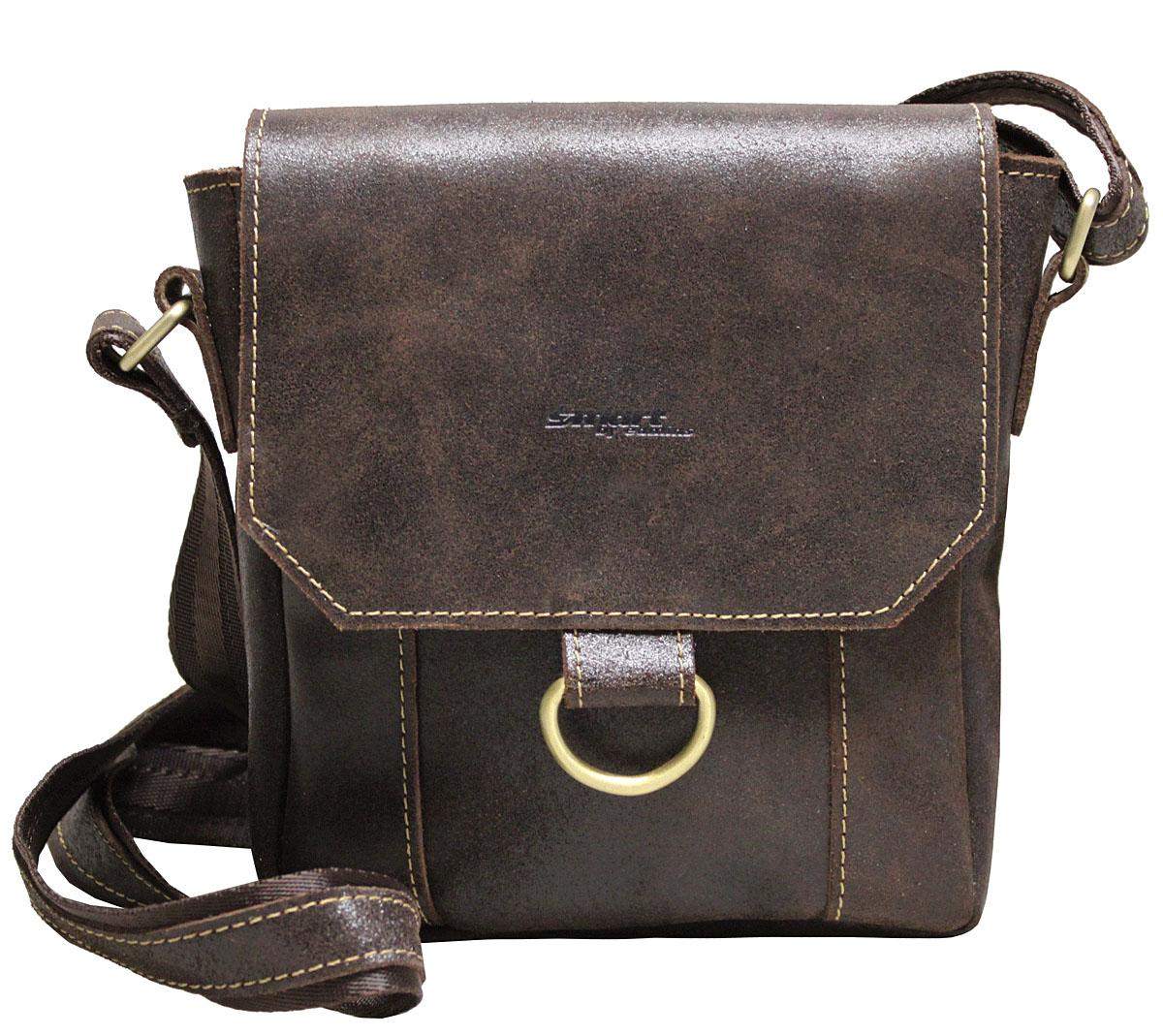 Сумка-планшет мужская Edmins Smart by Edmins, цвет: коричневый. 15С671КЗKV996OPY/MМужская сумка Edmins имеет одно отделение, закрывающееся на застежку-магнит. Оснащена регулируемым плечевым ремнем. Внутри сумки расположен прорезной карман на застежке-молнии.