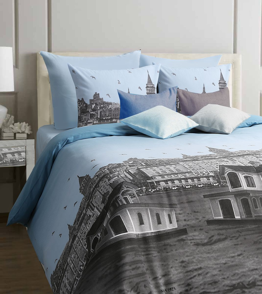 Комплект белья Mona Liza Istanbul, семейный, наволочки 70x70K100Комплект постельного белья Mona Liza Istanbul, выполненный из бязи (100% хлопок), состоит из двух пододеяльников, простыни и двух наволочек. Изделия оформлены оригинальным рисунком.Пододеяльник на пуговицах.Бязь - ткань полотняного переплетения с незначительной сминаемостью, хорошо сохраняющая цвет при стирке, легкая, с прекрасными гигиеническими показателями. Такой комплект подойдет для любого стилевого и цветового решения интерьера, а также создаст в доме уют.