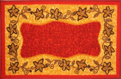 Коврик для ванной MAC Carpet Розетта, цвет: красный, 57 х 115 см25051 7_желтыйКоврики из нейлона на резиновой основе с успехом могут применяться как в ванных комнатах ,так и во всех других помещениях,где необходима защита от влаги.Нейлон обеспечивает повышенную износостойкость и простоту в уходе.