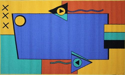 Коврик для ванной MAC Carpet Розетта, цвет: желтый, 100 х 160 см74-0120Коврики из нейлона на резиновой основе с успехом могут применяться как в ванных комнатах ,так и во всех других помещениях,где необходима защита от влаги.Нейлон обеспечивает повышенную износостойкость и простоту в уходе.