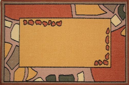 Коврик для ванной MAC Carpet Розетта, цвет: коричневый, 50 х 76 см391602Коврик MAC Carpet Розетта, выполненный из нейлона на резиновой основе, с успехом может применяться в ванных комнатах. Нейлон обеспечивает повышенную износостойкость и простоту в уходе.Коврик Розетта - это прекрасное решение для ванной комнаты.