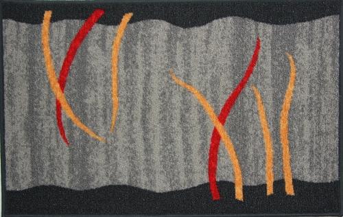 Коврик для ванной MAC Carpet Розетта, цвет: серый, 50 х 76 см391602Коврик MAC Carpet Розетта, выполненный из нейлона на резиновой основе, с успехом может применяться в ванных комнатах. Нейлон обеспечивает повышенную износостойкость и простоту в уходе.Коврик Розетта - это прекрасное решение для ванной комнаты.