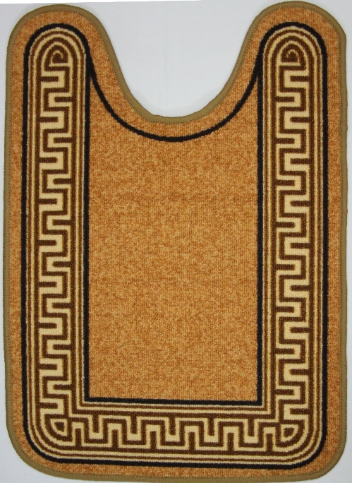 Коврик для ванной MAC Carpet Розетта. Версаче, цвет: коричневый, 57 х 80 см термобелье comazo кальсоны