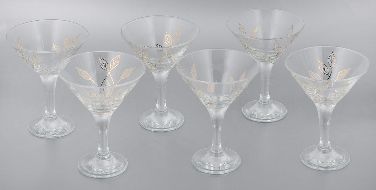 Набор бокалов для мартини Мусатов Осень, 170 мл, 6 штVT-1520(SR)Набор Мусатов Осень состоит из 6 бокалов, изготовленных из высококачественного стекла. Изделия оформлены оригинальной окантовкой и предназначены для подачи мартини. Такой набор прекрасно дополнит праздничный стол и станет желанным подарком в любом доме. Разрешается мыть в посудомоечной машине. Диаметр бокала (по верхнему краю): 10,7 см. Высота бокала: 13,7 см. Диаметр основания бокала: 6,5 см.