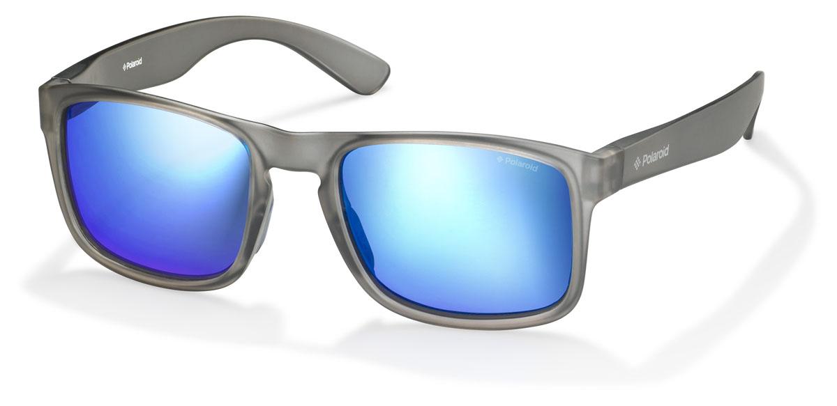 Очки поляризационные Polaroid, цвет: серый, синий. PLD3003.S.PHP.JYBM8434-58AEПри отражении солнечного света от горизонтальной поверхности – такой, как дорога или вода – часто получается сконцентрированный горизонтально поляризованный свет. Такое явление называется блик. Вертикально поляризованный свет полезен для человеческого глаза. Блики же могут существенно влиять на зрение: ослепляют, ухудшают зрение, снижают его остроту и вызывают раздражение. Поляризованные солнцезащитные очки Polaroid блокируют блики и обеспечивают защиту от ультрафиолета, благодаря им вы сможете видеть лучше и в то же время защищать глаза от вредного излучения.В них используются эксклюзивные линзы UltraSight™, произведенные с использованием инновационной технологии Thermofusion™. Эти высококачественные линзы состоят из девяти слоев для обеспечения полной защиты ваших глаз и возможности видеть все без искажений. Кроме того, это эффектный аксессуар, который наверняка станет изюминкой  вашего индивидуального стиля. Оправа не только красивая, но и прочная, а линзы со временем не покроются мелкими царапинами. Изделие поставляется в фирменном жестком футляре на застежке-молнии и комплектуется мягкой салфеткой. Чистка и обслуживание:Вымыть теплой водой, вытереть мягкой сухой салфеткой. Условия хранения: в футляре при нормальных климатических условиях.Предупреждение:Не использовать в солярии, не смотреть на прямые солнечные лучи, не использовать при управлении автомобилем в сумерках и ночью.