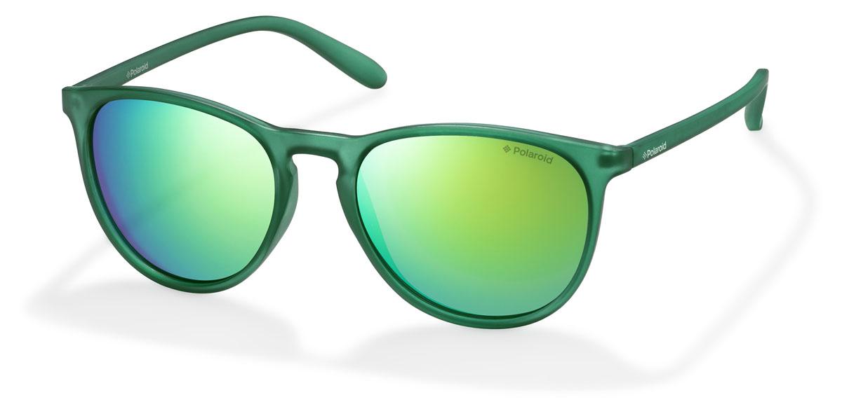 Очки поляризационные Polaroid, цвет: зеленый. PLD6003.S.PVJ.K7INT-06501При отражении солнечного света от горизонтальной поверхности – такой, как дорога или вода – часто получается сконцентрированный горизонтально поляризованный свет. Такое явление называется блик. Вертикально поляризованный свет полезен для человеческого глаза. Блики же могут существенно влиять на зрение: ослепляют, ухудшают зрение, снижают его остроту и вызывают раздражение. Поляризованные солнцезащитные очки Polaroid блокируют блики и обеспечивают защиту от ультрафиолета, благодаря им вы сможете видеть лучше и в то же время защищать глаза от вредного излучения.В них используются эксклюзивные линзы UltraSight™, произведенные с использованием инновационной технологии Thermofusion™. Эти высококачественные линзы состоят из девяти слоев для обеспечения полной защиты ваших глаз и возможности видеть все без искажений. Кроме того, это эффектный аксессуар, который наверняка станет изюминкой  вашего индивидуального стиля. Оправа не только красивая, но и прочная, а линзы со временем не покроются мелкими царапинами. Изделие поставляется в фирменном жестком футляре на застежке-молнии и комплектуется мягкой салфеткой. Чистка и обслуживание:Вымыть теплой водой, вытереть мягкой сухой салфеткой. Условия хранения: в футляре при нормальных климатических условиях.Предупреждение:Не использовать в солярии, не смотреть на прямые солнечные лучи, не использовать при управлении автомобилем в сумерках и ночью.