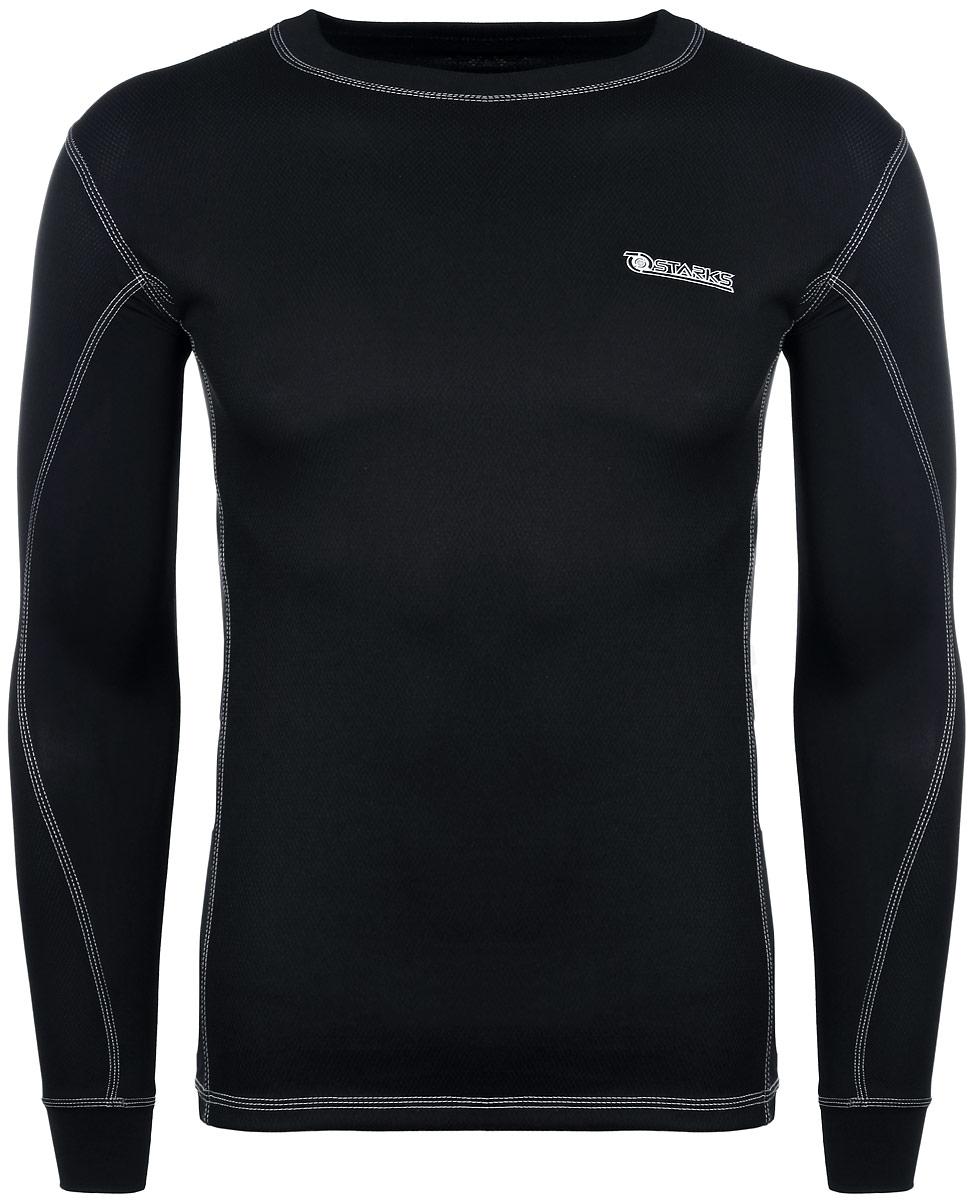 Термобелье кофта Starks, летняя, цвет: черный. Размер M