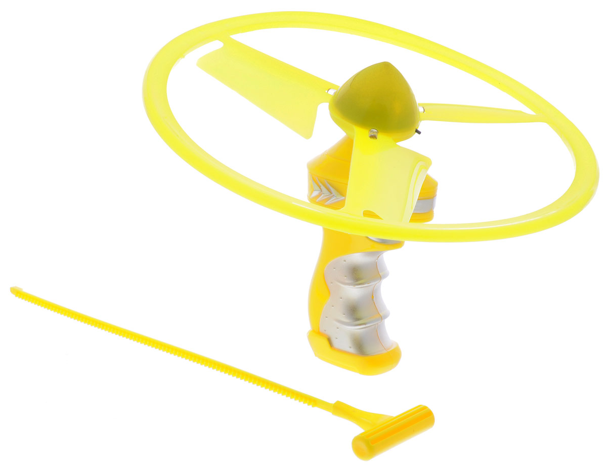 YG Sport Летающий диск Flash Frisbee цвет желтый