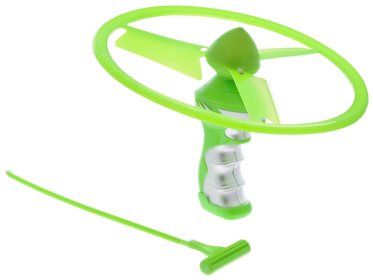 YG Sport Летающий диск Flash Frisbee цвет салатовый