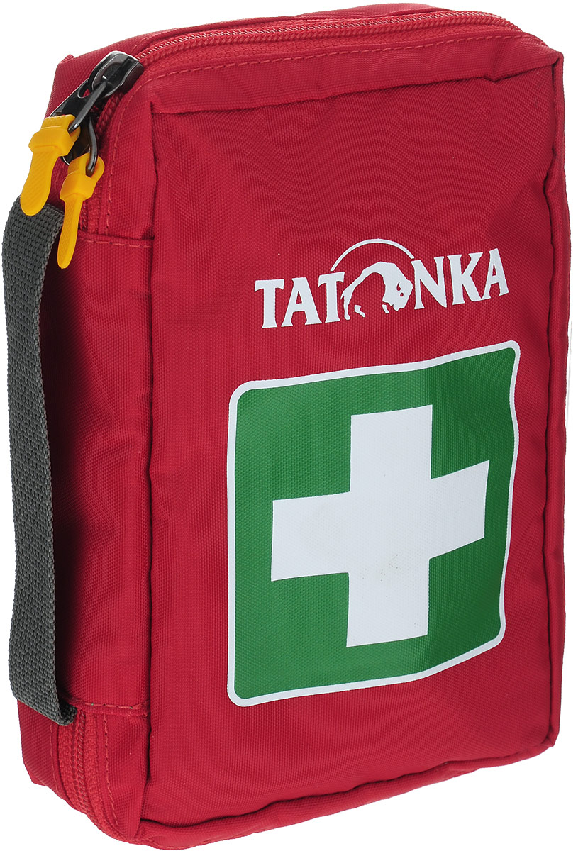 Сумка для медикаментов (аптечка) Tatonka First Aid S, цвет: красный. 2810.015PGPS7797CIS08GBNVКомпактная походная аптечка (без содержимого). Аптечка удобно раскладывается, имеет множество кармашков внутри, молнию по периметру и петли для крепления на пояс. Особенности:молния по периметру,петли для крепления на пояс,удобные кармашки внутри,прочный материал.