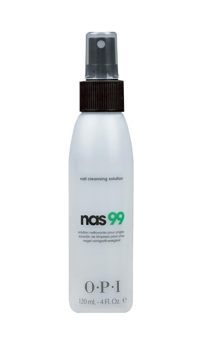 OPI Дезинфицирющая жидкость для ногтей Nas-99, 120 млFS-00897Очищающее средство для ногтей с антисептическим эффектом НАС-99 OPI. Обязательно использовать для дезинфекции и обезжиривания ногтей, инструментов в процедурах маникюра и педикюра и моделирования искусственных ногтей. Содержит Тимол, предотвращающий развитие грибка ногтей и бактерий. Не содержит воды и удаляет излишки влаги и масла с поверхности ногтевой пластины.