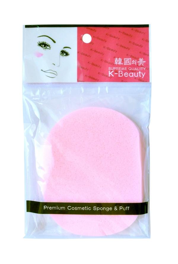 K-Beauty Спонж косметический для очищения кожи лица, розовый, 1 шт1301210Косметический спонж предназначен для очищения кожи лица, снятия макияжа и остатков косметических масок. Благодаря пористой структуре способствует отшелушиванию ороговевших клеток кожи, массирует кожу лица, улучшает микроциркуляцию, что повышает тонус, придает коже упругость и эластичность.Мягкий и нежный спонж не травмирует, подходит даже для чувствительной кожи.