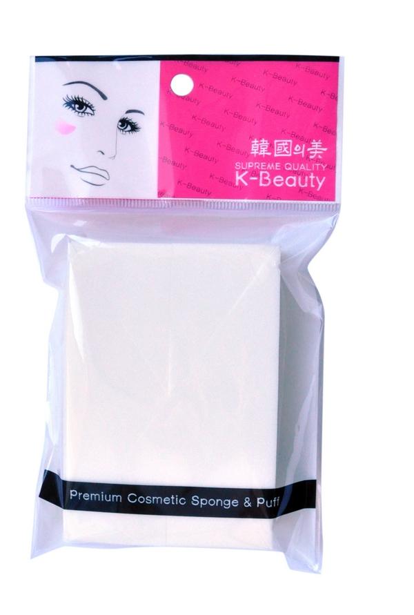 K-Beauty Спонж косметический Прямоугольник, 7х10 см, 8 шт28032022Косметический спонж предназначен для нанесения тональных средств (корректора, тонального крема, румян, пудры и т.д.), а также коррекции макияжа. Спонж позволяет равномерно распределить не только сухие, но и кремовые текстуры, а его удобная треугольная форма подходит для обработки таких труднодоступных зон, как область вокруг глаз и носогубные складки.Упаковка состоит из 8 отрывных сегментов.Мягкий и нежный спонж не травмирует, подходит даже для чувствительной кожи.
