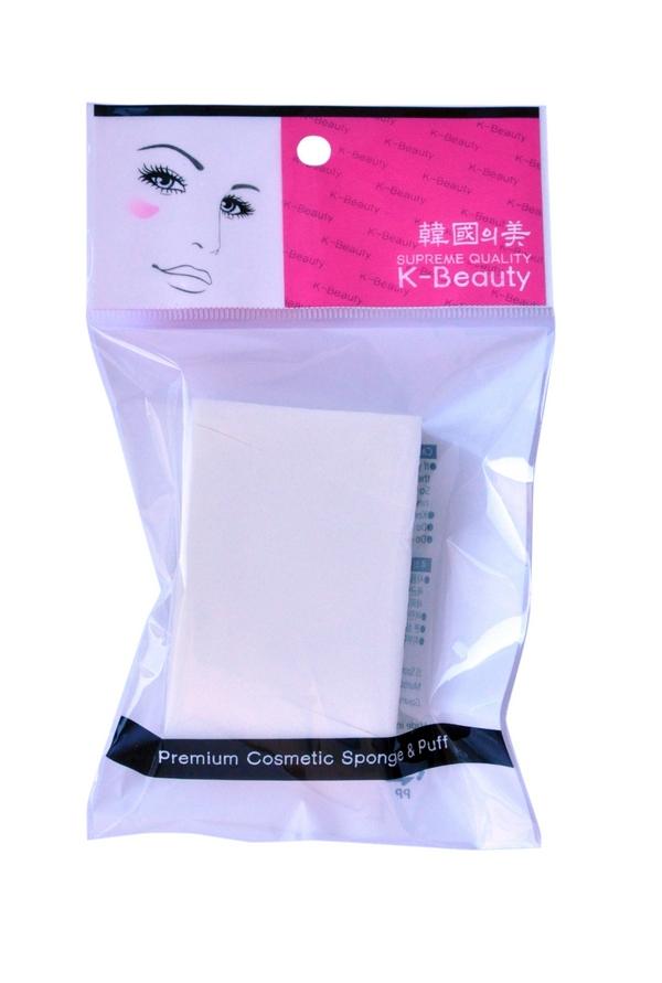 K-Beauty Спонж косметический Прямоугольник, 5х7,5 см, 6 шт28032022Косметический спонж предназначен для нанесения тональных средств (корректора, тонального крема, румян, пудры и т.д.), а также коррекции макияжа. Спонж позволяет равномерно распределить не только сухие, но и кремовые текстуры, а его удобная треугольная форма подходит для обработки таких труднодоступных зон, как область вокруг глаз и носогубные складки.Упаковка состоит из 8 отрывных сегментов.Мягкий и нежный спонж не травмирует, подходит даже для чувствительной кожи.
