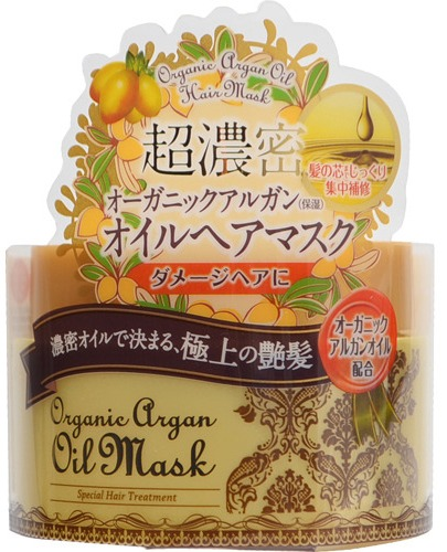Momotani Маска для волос с маслом арганы 170 г769679Маска содержит натуральное марокканское масло арганы, которое превосходно удерживает влагу в волосах, обволакивает секущиеся кончики, восстанавливает изнутри ломкие и поврежденные волосы. Средство смягчает жесткие волосы и придает им блеск. Активные компоненты:Масло арганы - натуральный продукт для ухода за волосами. Его состав уникален и включает антиоксиданты, антибиотики и витамины А, Е, F, порядка 80 % полезных жирных кислот, которые интенсивно препятствуют старению волос. Масло защищает волосы от негативного воздействия окружающей среды, усиливает рост волос, восстанавливает их структуру, питает, делает волосы сильными, послушными, шелковистыми.Масла Ши и пенника лугового придают волосам гладкость и увлажняют их изнутри.Кератин восстанавливает и укрепляет поврежденные волосы.Гидролизованный шелк увлажняет волосы и кожу головы, улучшает структуру волоса, придавая ему гладкость, эластичность и блеск. Маска восстанавливает волосы от корней до самых кончиков и придаёт им блеск и гладкость.Обеспечивает сверх интенсивный уход всего за 3 минуты!Обладает изысканным цветочным ароматом.