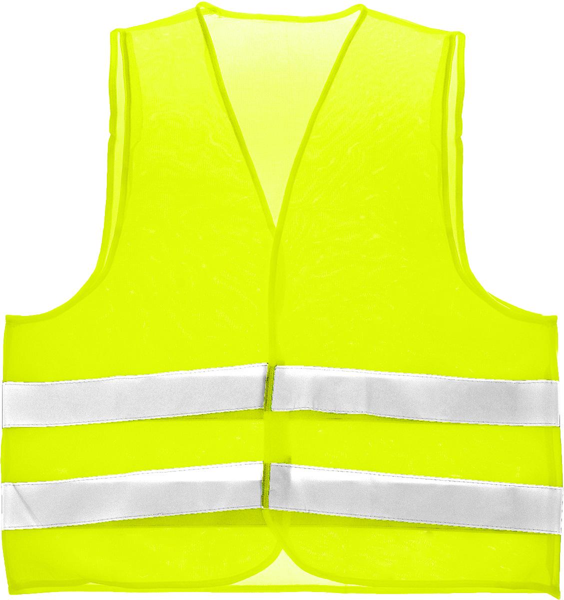 Жилет светоотражающий Rexxon, цвет: салатовый. Размер XLWT-CD37Светоотражающий жилет Rexxon обеспечит безопасную идентификацию людей, находящихся на проезжей части дороги. Жилет выполнен из 100% сетчатого полиэстера. Застегивается на липучки.С 1 июля 2015 года ношение светоотражателей вне населенных пунктов является обязательным для пешеходов! Мы рекомендуем носить их и в городе! Для безопасности и сохранения жизни!