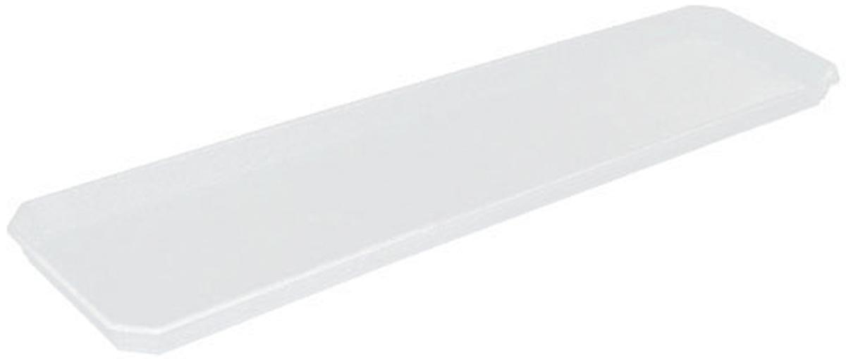 Поддон для балконного ящика InGreen, цвет: белый, длина 60 смZ-0307Поддон для балконного ящика InGreen выполнен из прочного цветного пластика. Изделие предназначено для стока воды.