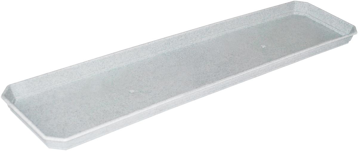 Поддон для балконного ящика InGreen, цвет: мраморный, длина 60 смZ-0307Поддон для балконного ящика InGreen выполнен из прочного цветного пластика. Изделие предназначено для стока воды.