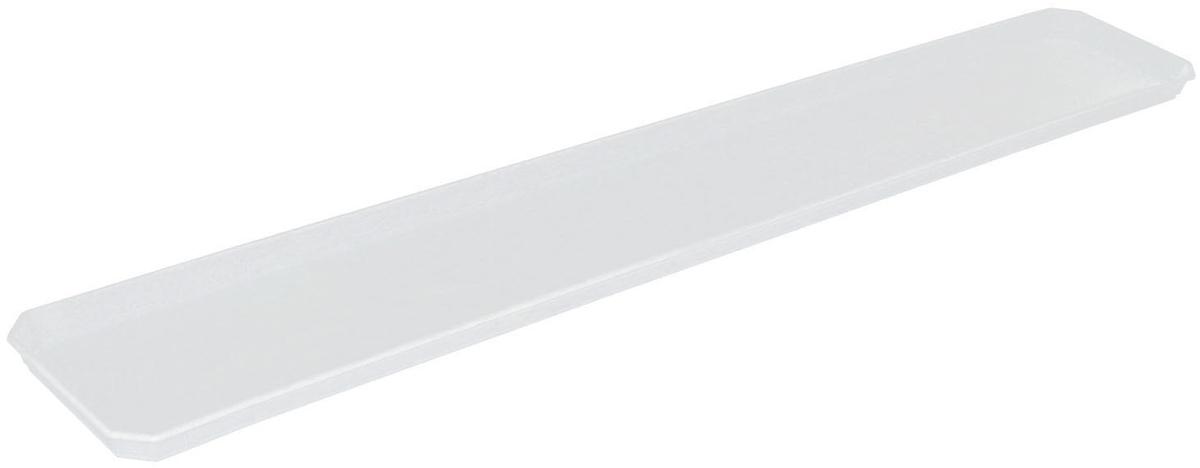Поддон для балконного ящика InGreen, цвет: белый, длина 80 смING42021FМРПоддон для балконного ящика InGreen выполнен из прочного цветного пластика. Изделие предназначено для стока воды.