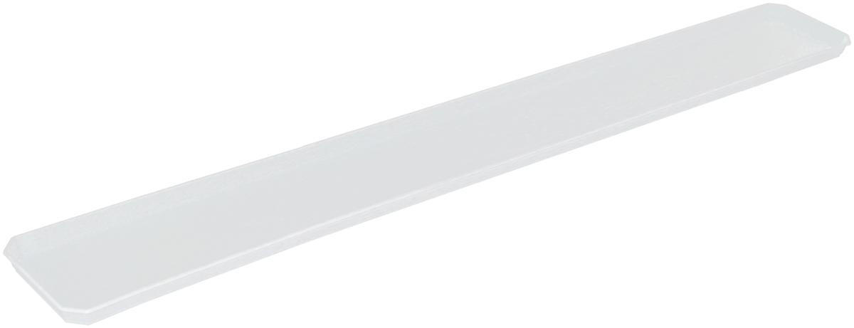 Поддон для балконного ящика InGreen, цвет: белый, длина 100 смKOC_SOL249_G4Поддон для балконного ящика InGreen выполнен из прочного цветного пластика. Изделие предназначено для стока воды.