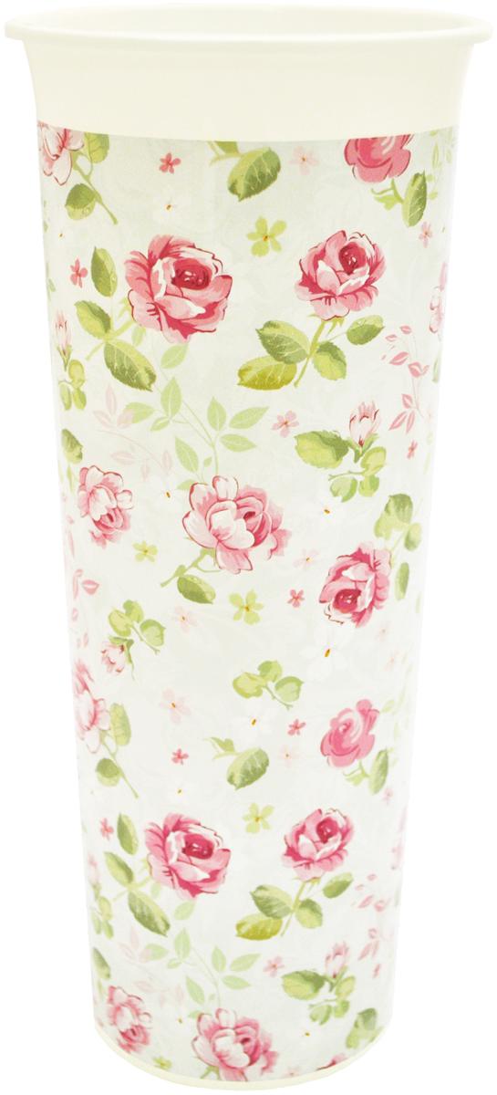 Ваза InGreen Розы, высота 26 смFS-91909Ваза InGreen Розы выполнена из высококачественногопластика и имеет изысканный внешний вид. Такая ваза станет идеальным украшением интерьера и прекрасным подарком к любому случаю. Высота вазы: 26 см.