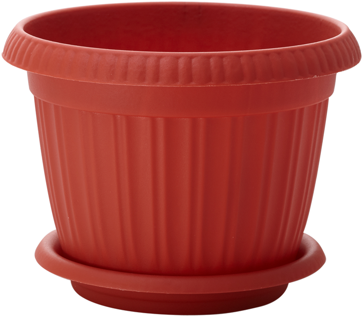 Горшок для цветов InGreen Таити, с подставкой, диаметр 20 см. ING41020FТРZ-0307Горшок InGreen Таити выполнен из высококачественного полипропилена (пластика) и предназначен для выращивания цветов, растений и трав. Снабжен подставкой для стока воды.Такой горшок порадует вас функциональностью, а благодаря лаконичному дизайну впишется в любой интерьер помещения.Диаметр горшка (по верхнему краю): 20 см. Высота горшка: 15,5 см. Диаметр подставки: 16 см.