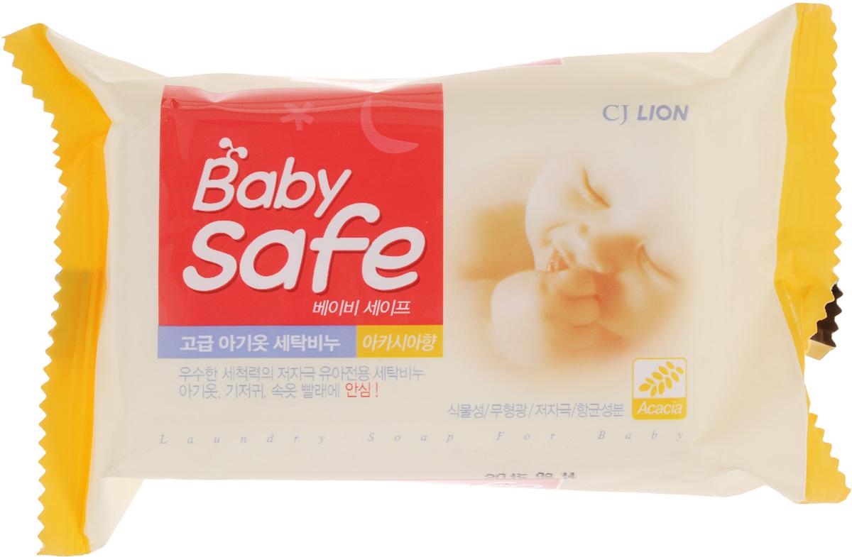 Мыло для стирки детских вещей Cj Lion Baby Safe, с ароматом акации, 190 г4302000003Мыло для стирки детских вещей Cj Lion Baby Safe эффективно удаляет загрязнения, нейтрализует запахи, легко справляется с загрязнениями и хорошо выполаскивается. Мыло отлично отстирывает, не раздражает детскую кожу, смывает бактерии и микробы. Теперь вы можете быть спокойны за стирку детских вещей и белья. Состав: слабощелочная мыльная основа (98%), антибактериальный компонент. Товар сертифицирован.
