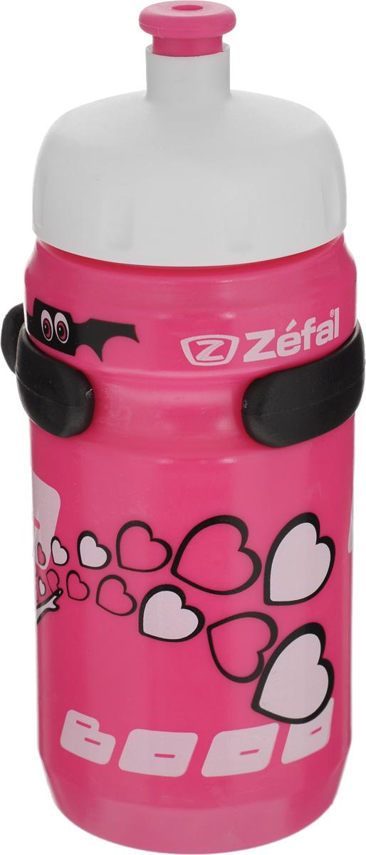 Фляга велосипедная детская Zefal Little Z, 350 мл. 162DMW-1462-01-SR серебристыйВелосипедная фляга для детей Zefal Little Z изготовлена из пищевого пластика (без использования бисфенола и ПВХ). Внешние стенки изделия декорированы рисунком в виде привидения с сердечками и летучих мышей. Фляга снабжена специальным клапаном для удобного питья. Винтовая крышка с легкостью откручивается, а широкое горлышко позволяет аккуратно наполнять фляжку. Фляга снабжена специальным держателем для крепления к велосипеду. Высота фляги: 15,8 см.