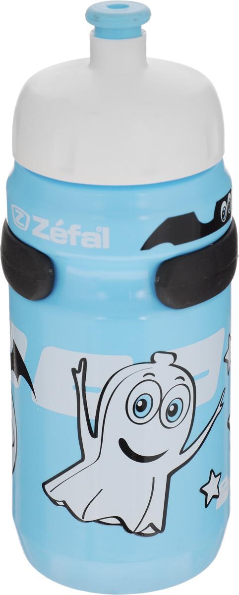 Фляга велосипедная детская Zefal Little Z, цвет: голубой, 350 млRivaCase 8460 blackВелосипедная фляга для детей Zefal Little Z изготовлена из пищевого пластика (без использования бисфенола и ПВХ). Внешние стенки изделия декорированы рисунком в виде привидения и летучих мышей. Фляга снабжена специальным клапаном для удобного питья. Винтовая крышка с легкостью откручивается, а широкое горлышко позволяет аккуратно наполнять фляжку. Фляга снабжена специальным держателем для крепления к велосипеду. Высота фляги: 15,8 см.