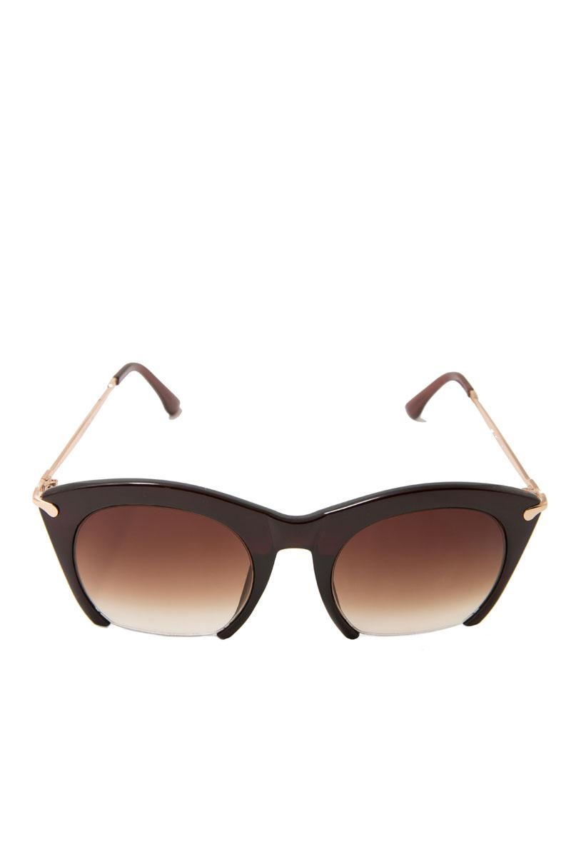 Очки солнцезащитные женские Mitya Veselkov, цвет: коричневый. LANBAO-1646-C2-BROWNBM8434-58AEПрекрасные антибликовые очки Mitya Veselkov, станут прекрасным и стильным аксессуаром для вас и защитят от УФ лучей. Они помогут глазу более четко распознать картинку, засвеченную солнечными лучами, при этом скорректируют все возникшие искажения.