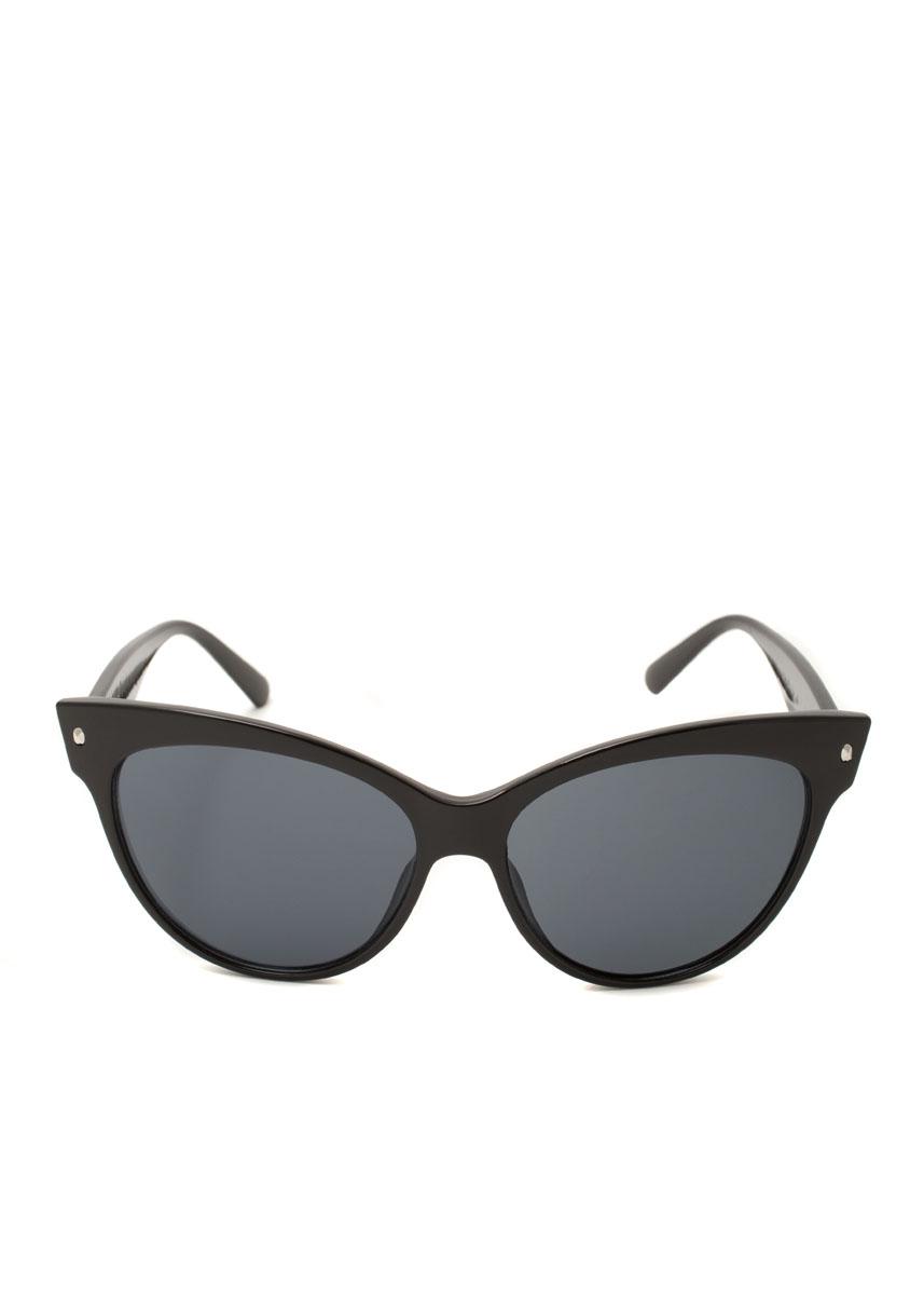 Очки солнцезащитные женские Mitya Veselkov, цвет: черный. OS-01BM8434-58AEПрекрасные антибликовые очки Mitya Veselkov, станут прекрасным и стильным аксессуаром для вас и защитят от УФ лучей. Они помогут глазу более четко распознать картинку, засвеченную солнечными лучами, при этом скорректируют все возникшие искажения.