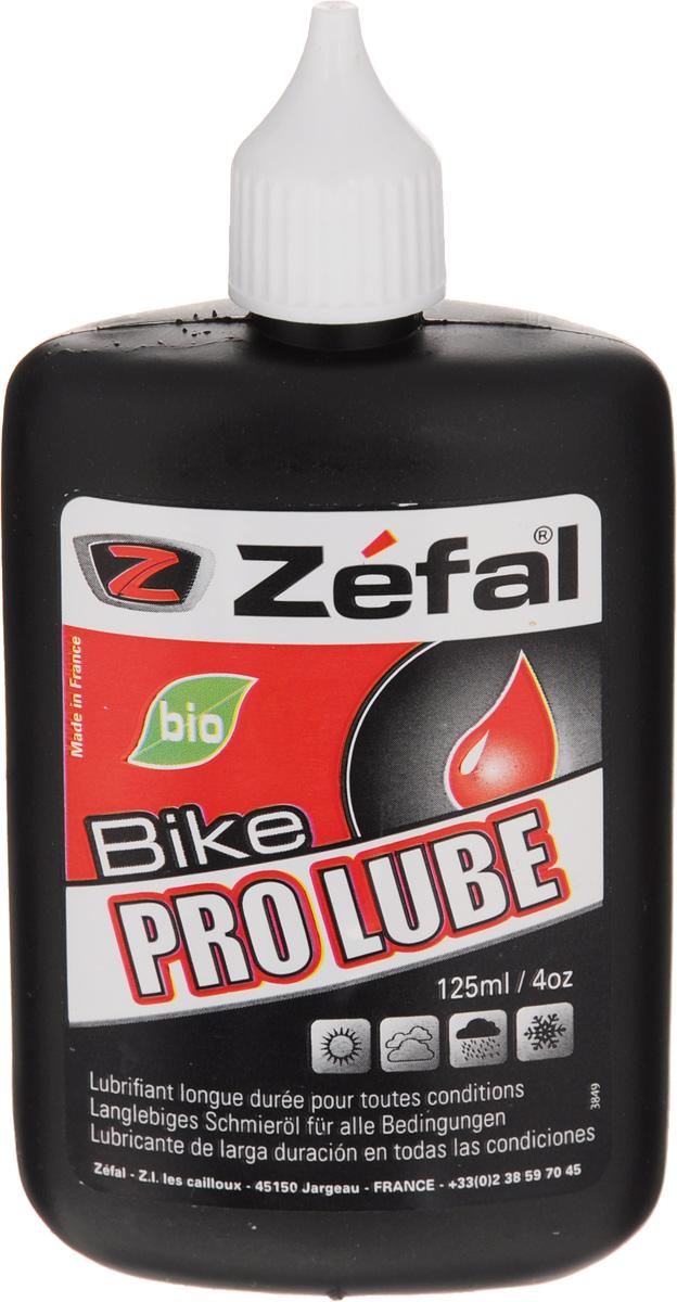 Смазка для велосипедной цепи Zefal Pro Lube, всепогодная, 125 мл