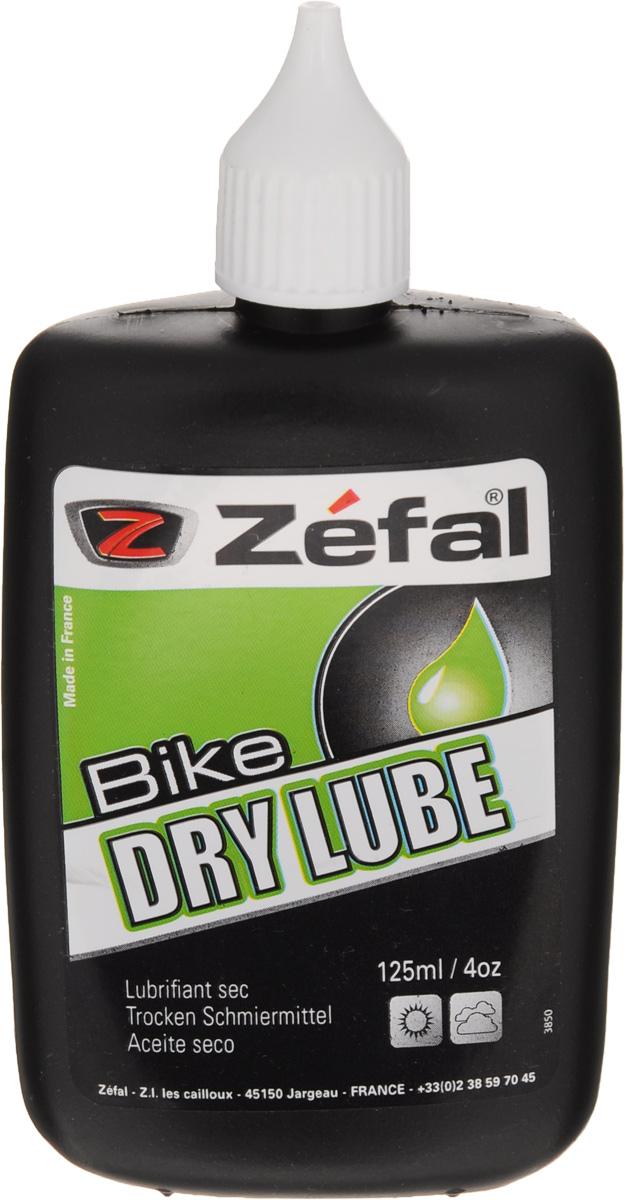Смазка для велосипедной цепи Zefal Dry Lube, для сухой погоды, 125 мл