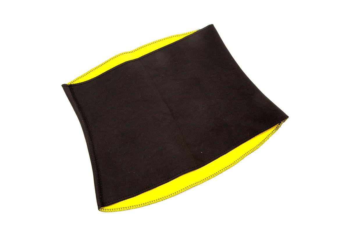 Пояс для похудения Bradex Хот Шейперс, цвет: желтый. SF 0111. Размер XXXXL (56-58)SF 0111Пояс Bradex Хот Шейперс изготовлен из инновационной ткани, обеспечивающей мощный эффект сауны - при контакте с телом материал активно повышает теплоотдачу. Вы двигаетесь, как обычно, занимаетесь повседневными делами, но потеете в 4 раза больше, чем в теплой одежде. Под действием повышенного тепла формируется красивая фигура, кожа избавляется от токсинов, восстанавливается ее чистота и упругость. Эластичный бесшовный пояс быстро подтягивает животик и бока, поддерживает мышцы спины, не виден под облегающей одеждой.
