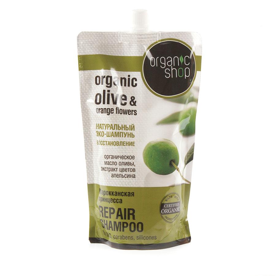 Organic Shop Шампунь для волос Марокканская принцесса, восстановление, 500 мл