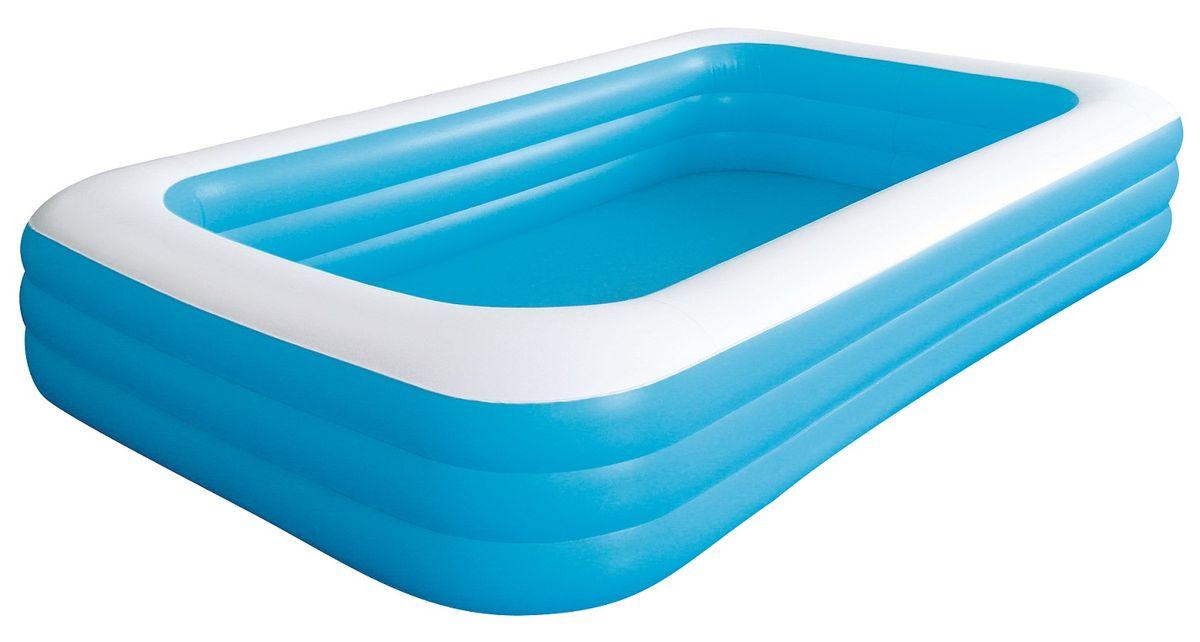 Бассейн надувной Jilong Giant, цвет: голубой, 305 х 183 х 56 см, от 6 летJL010184NPFБассейн надувной Jilong Giant - для использования на даче и природе.Характеристики:- 3 кольца- Прочная конструкция- Удобная сливная пробка- Самоклеящаяся заплатка в комплектеКомпания Jilong - это широкий выбор продукции высокого качества и отличный выбор для отдыха на природе.