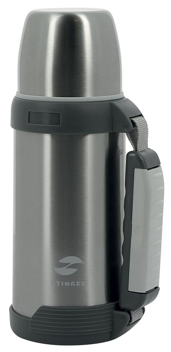 Термос Stinger, цвет: серебристый, серый, 750 млHY-TP201-3Термос Stinger изготовлен из высококачественной нержавеющей стали. Двойная колба из нержавеющей стали сохраняет напитки горячими и холодными до 24 часов. Удобный, компактный и практичный термос пригодится в путешествии, походе и поездке. Не рекомендуется использовать в микроволновой печи и мыть в посудомоечной машине.Диаметр горлышка: 5 см. Высота термоса: 27 см.Диаметр крышки (по верхнему краю): 8 см.Высота крышки: 6,5 см.Время сохранения температуры (холодной и горячей): 24 часа.
