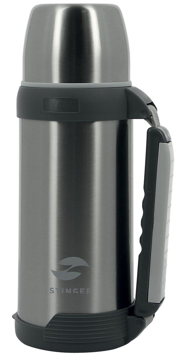 Термос Stinger, с чашей, цвет: серебристый, 1,8 лHY-TP201-6Термос Stinger изготовлен из высококачественной нержавеющей стали. Двойная колба из нержавеющей стали сохраняет напитки горячими и холодными до 24 часов. В комплекте дополнительная пластиковая чашка.Удобный, компактный и практичный термос пригодится в путешествии, походе и поездке. Не рекомендуется использовать в микроволновой печи и мыть в посудомоечной машине.Диаметр горлышка: 7 см. Высота термоса: 27 см.Диаметр крышки (по верхнему краю): 10 см.Высота крышки: 7,5 см.Диаметр чаши (по верхнему краю): 9 см.Высота чаши: 5 см.Время сохранения температуры (холодной и горячей): 24 часа.