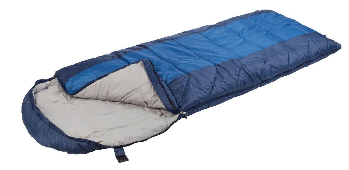 Спальный мешок TREK PLANET  Aspen Comfort Long ,цвет: темно-синий, синий, левосторонняя молния - Спальные мешки