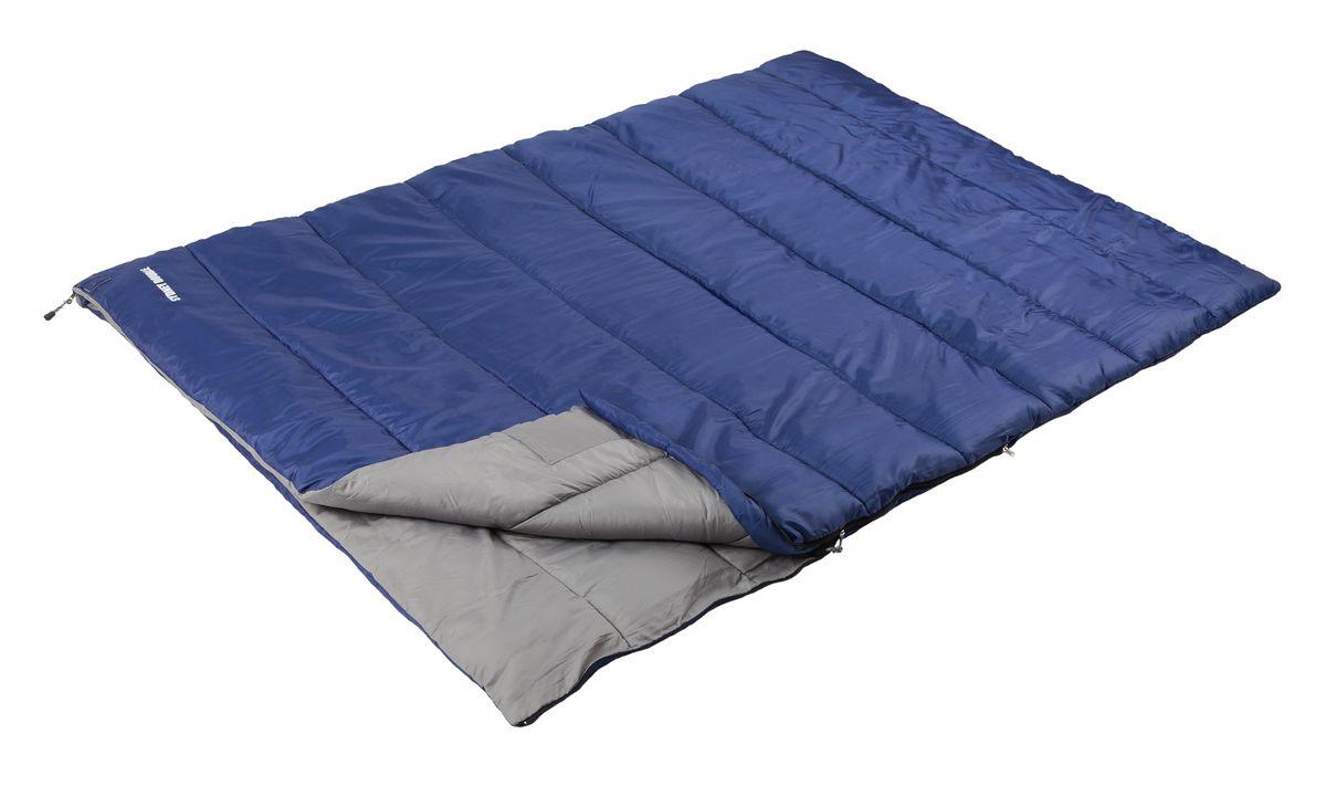 Спальный мешок TREK PLANET Sydney Double, цвет: синий67742Просторный и теплый спальник-одеяло двойного размера TREK PLANET Sydney Double предназначен для походов преимущественно в летний период. Идеально подойдет для тех, кто путешествует парой! Этот спальник пригодится вам во время поездки на пикник, на дачу, во время туристического похода. К его несомненным достоинствам можно отнести то, что в остальное время его можно использовать как одеяло для гостей.ОСОБЕННОСТИ СПАЛЬНИКА:- Две молнии расположена по обеим сторонам спальника,- Молния имеет два замка с обеих сторон,- Термоклапан вдоль молнии,- Внутренний карман,- Небольшой вес,- К спальнику прилагается чехол для удобного хранения и переноски.t° комфорт: 10°Ct° лимит комфорт: 6°Ct° экстрим: -5°C.Внешний материал: 100% полиэстерВнутренний материал: 100% полиэстерУтеплитель: Hollow Fiber 1 x 300 г/м2.Размер: 200 х 150 см.Размер в чехле: 35 х 35 х 51 см.Вес: 2,25 кг.