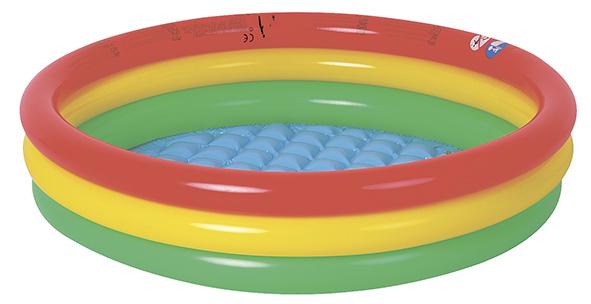 Бассейн надувной Jilong Round Baby, 150 х 29 смK100Бассейн надувной JILONG  ROUND BABY POOL, Возраст 2-6 летДля использования на даче и природе. - Размер в рабочеи состоянии:150x29см - Объем - 300 литров- Мягкое надувное дно- 3 кольца- Самоклеящаяся заплатка в комплектеАртикул: JL017223NPFМатериал: ПВХУпаковка: полиэтиленовый пакетРазмер упаковки:39х30х5смВес: 1,755 кгКомпания JILONG это широкий выбор продукции высокого качества и отличный выбор для отдыха на природе. Характеристики: Бренд: JILONGПроизводитель: КитайУпаковка: полиэтиленовый пакетРазмер упаковки:39х30х5смРазмер бассейна:150x29 смОбъем: 300 литровМатериал:ПВХВес:1,755 кгАртикул: JL017223NPF