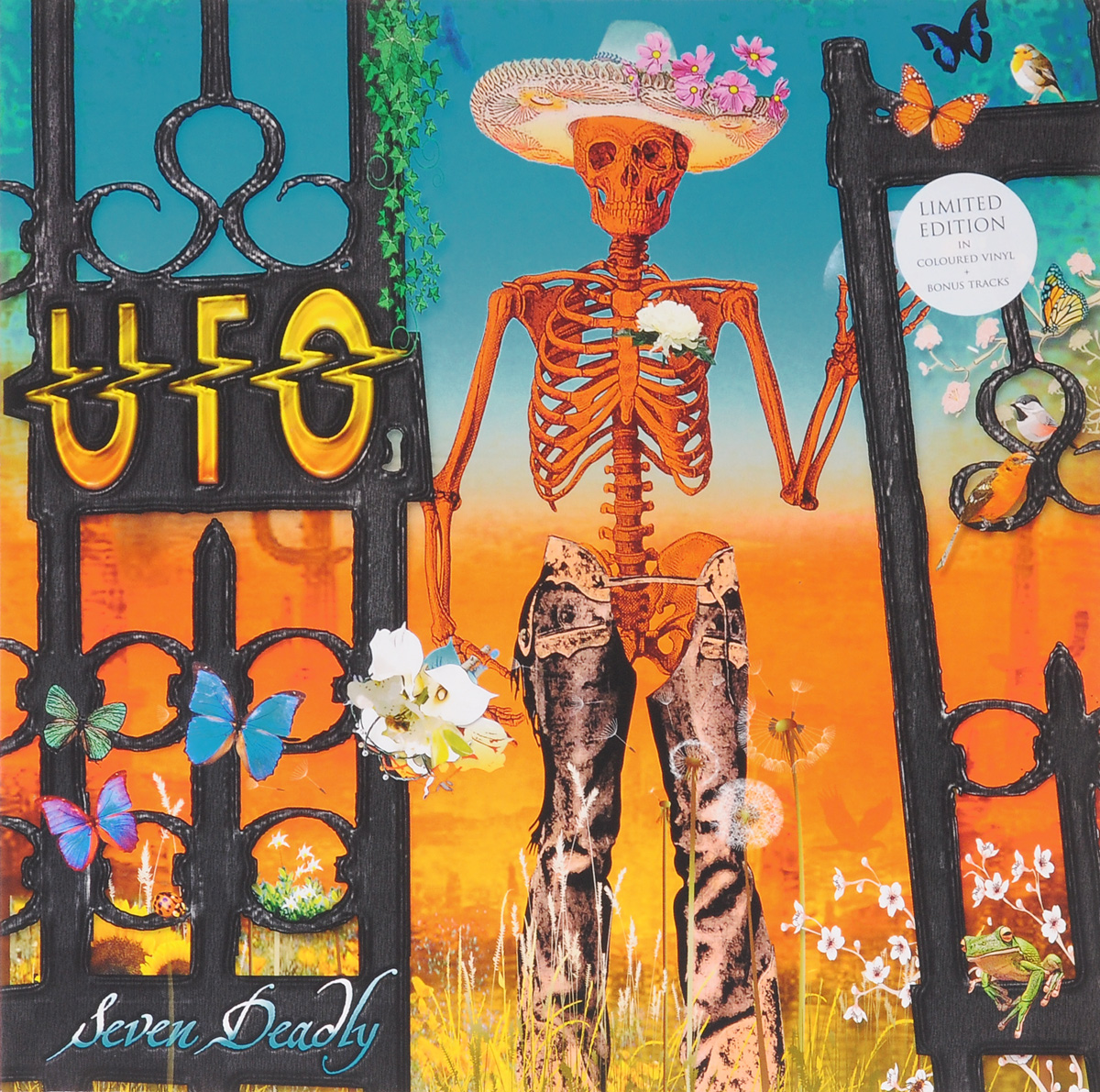 UFO UFO. Seven Deadly. Limited Edition (2 LP) eset nod32 антивирус platinum edition 3 пк 2 года