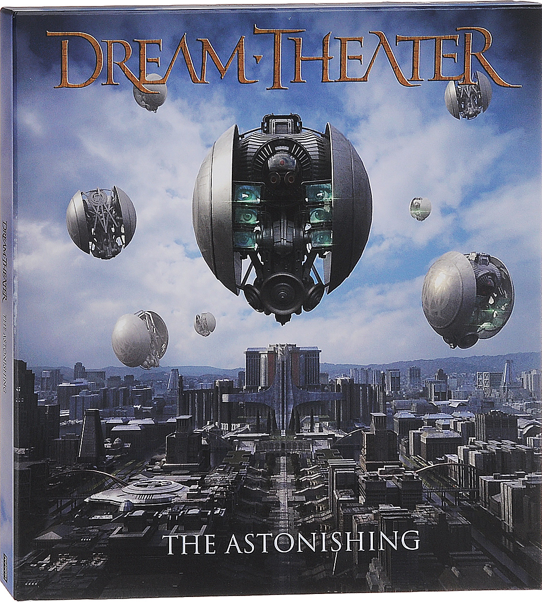 Dream Theater Dream Theater. The Astonishing (4 LP) dream theater dream theater train of thought lp