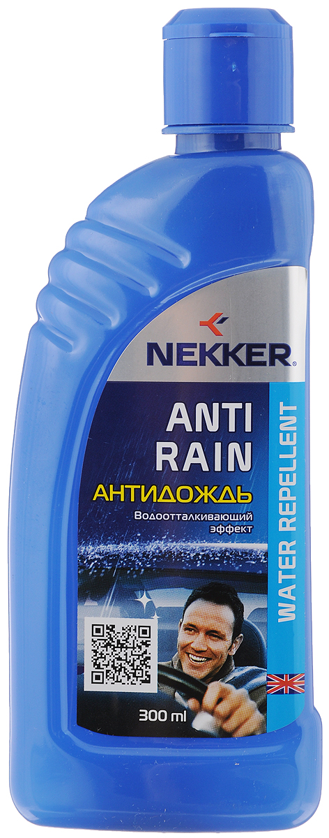Антидождь Nekker, 300 мл150507Высокоэффективное водоотталкивающее средство Nekker используется для придания водоотталкивающих свойств стеклянным и зеркальным наружным поверхностям автомобиля. Обеспечивает комфортное безопасное вождение, значительно улучшая дорожную видимость во время дождя и снегопада. Не оставляет разводов. Состав: жидкости полиорганосилоксановые, спирт изопропиловый.Товар сертифицирован.