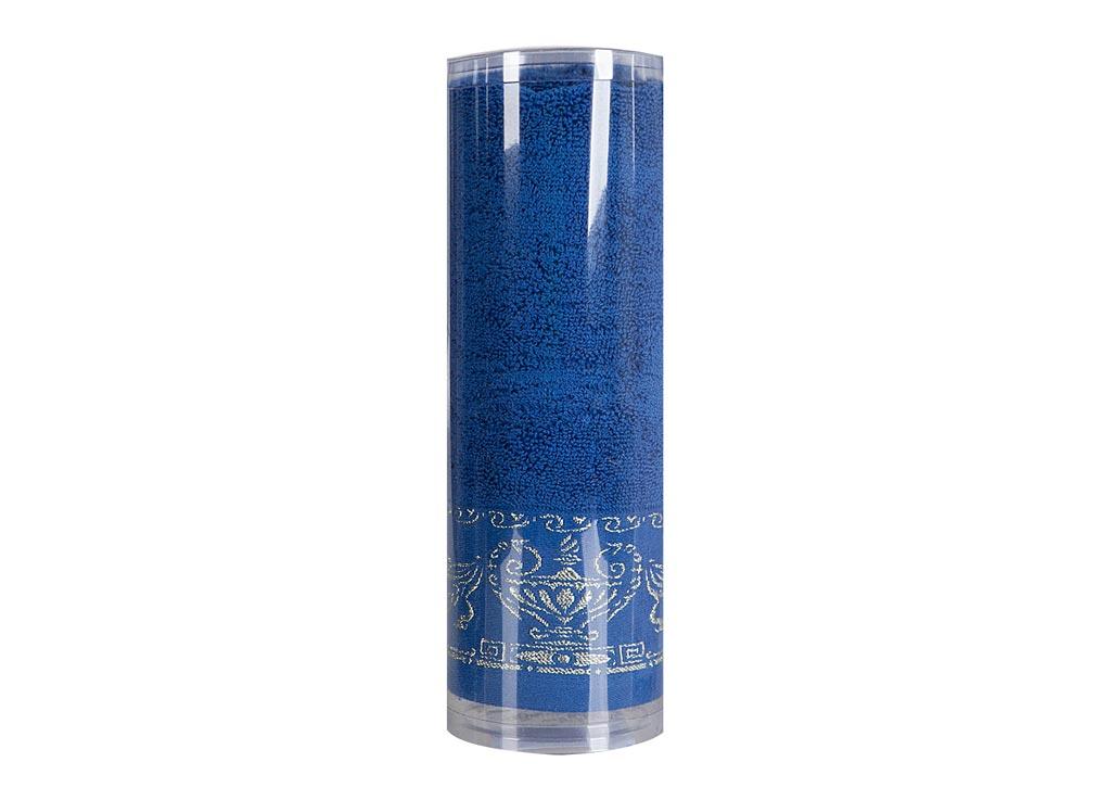 Полотенце махровое Soavita Амфора, цвет: синий, 45 х 80 см. 82751CLP446Махровое полотно создается из хлопковых нитей, которые, в свою очередь, прядутся из множества хлопковых волокон. Чем длиннее эти волокна, тем прочнее будет нить, и, соответственно, изделие. Длина составляющих хлопковую нить волокон влияет и на фактуру получаемой ткани: чем они длиннее, тем мягче и пушистее получится махровое изделие, тем лучше будет впитывать изделие воду. Хотя на впитывающие качество махры – ее гигроскопичность, не в последнюю очередь влияет состав волокна. Мягкая махровая ткань отлично впитывает влагу и быстро сохнет. Soavita – это популярный бренд домашнего текстиля. Дизайнерская студия этой фирмы находится во Флоренции, Италия. Производство перенесено в Китай, чтобы сделать продукцию более доступной для покупателей. Таким образом, вы имеете возможность покупать продукцию европейского качества совсем не дорого. Домашний текстиль прослужит вам долго: все детали качественно прошиты, ткани очень плотные, рисунок наносится безопасными для здоровья красителями, не линяет и держится много лет. Все изделия упакованы в подарочные упаковки.