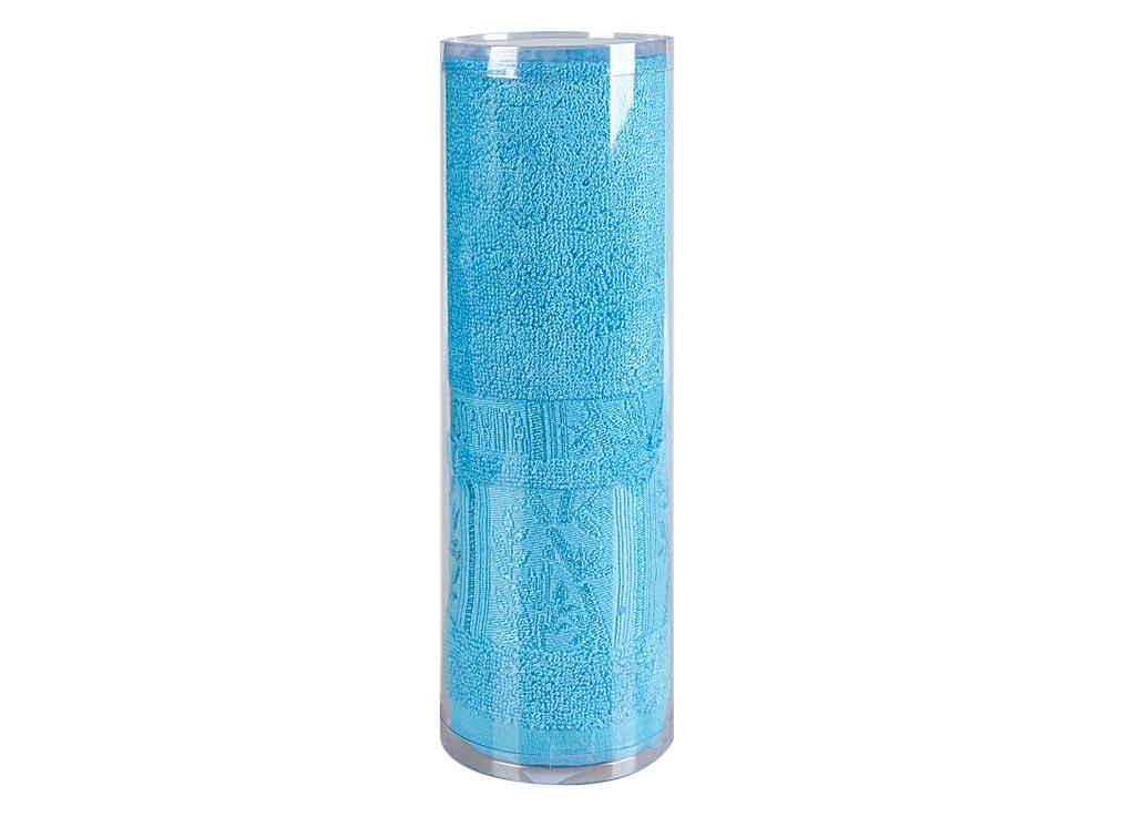 Полотенце махровое Soavita Sofia, цвет: бирюзовый, 50 х 90 см1004900000360Махровое полотно создается из хлопковых нитей, которые, в свою очередь, прядутся из множества хлопковых волокон. Чем длиннее эти волокна, тем прочнее будет нить, и, соответственно, изделие. Длина составляющих хлопковую нить волокон влияет и на фактуру получаемой ткани: чем они длиннее, тем мягче и пушистее получится махровое изделие, тем лучше будет впитывать изделие воду. Хотя на впитывающие качество махры – ее гигроскопичность, не в последнюю очередь влияет состав волокна. Мягкая махровая ткань отлично впитывает влагу и быстро сохнет. Soavita – это популярный бренд домашнего текстиля. Дизайнерская студия этой фирмы находится во Флоренции, Италия. Производство перенесено в Китай, чтобы сделать продукцию более доступной для покупателей. Таким образом, вы имеете возможность покупать продукцию европейского качества совсем не дорого. Домашний текстиль прослужит вам долго: все детали качественно прошиты, ткани очень плотные, рисунок наносится безопасными для здоровья красителями, не линяет и держится много лет. Все изделия упакованы в подарочные упаковки.