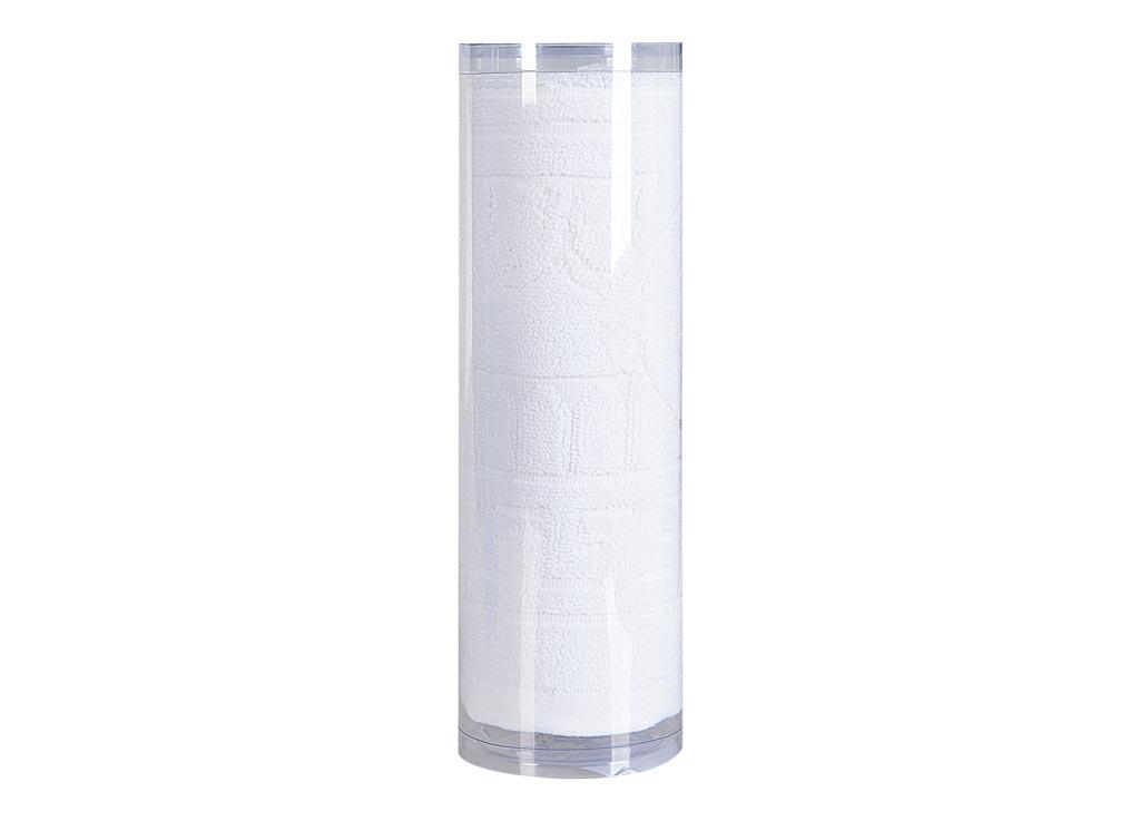 Полотенце махровое Soavita Капитель, цвет: белый, 65 х 130 смRC-100BWCМахровое полотно создается из хлопковых нитей, которые, в свою очередь, прядутся из множества хлопковых волокон. Чем длиннее эти волокна, тем прочнее будет нить, и, соответственно, изделие. Длина составляющих хлопковую нить волокон влияет и на фактуру получаемой ткани: чем они длиннее, тем мягче и пушистее получится махровое изделие, тем лучше будет впитывать изделие воду. Хотя на впитывающие качество махры – ее гигроскопичность, не в последнюю очередь влияет состав волокна. Мягкая махровая ткань отлично впитывает влагу и быстро сохнет. Soavita – это популярный бренд домашнего текстиля. Дизайнерская студия этой фирмы находится во Флоренции, Италия. Производство перенесено в Китай, чтобы сделать продукцию более доступной для покупателей. Таким образом, вы имеете возможность покупать продукцию европейского качества совсем не дорого. Домашний текстиль прослужит вам долго: все детали качественно прошиты, ткани очень плотные, рисунок наносится безопасными для здоровья красителями, не линяет и держится много лет. Все изделия упакованы в подарочные упаковки.