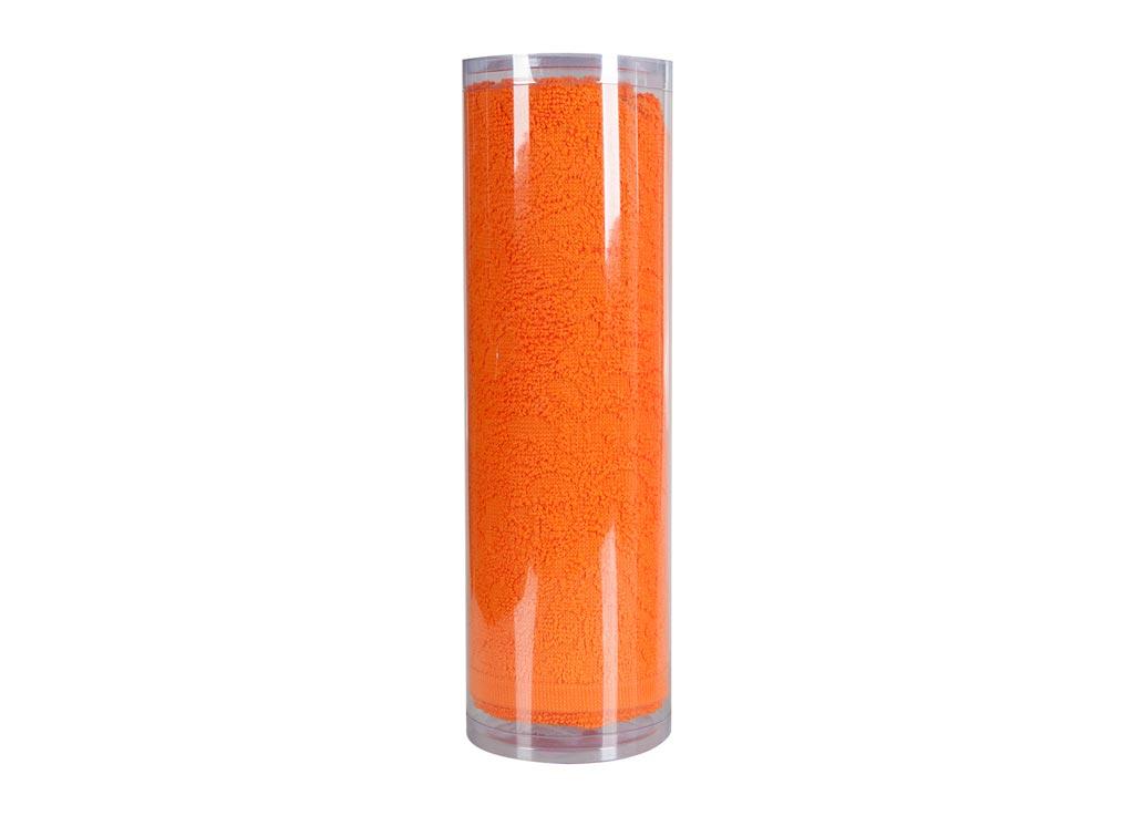 Полотенце махровое Soavita Eo. Flamingo, цвет: оранжевый, 50 х 90 смCLP446Махровое полотно создается из хлопковых нитей, которые, в свою очередь, прядутся из множества хлопковых волокон. Чем длиннее эти волокна, тем прочнее будет нить, и, соответственно, изделие. Длина составляющих хлопковую нить волокон влияет и на фактуру получаемой ткани: чем они длиннее, тем мягче и пушистее получится махровое изделие, тем лучше будет впитывать изделие воду. Хотя на впитывающие качество махры – ее гигроскопичность, не в последнюю очередь влияет состав волокна. Мягкая махровая ткань отлично впитывает влагу и быстро сохнет. Soavita – это популярный бренд домашнего текстиля. Дизайнерская студия этой фирмы находится во Флоренции, Италия. Производство перенесено в Китай, чтобы сделать продукцию более доступной для покупателей. Таким образом, вы имеете возможность покупать продукцию европейского качества совсем не дорого. Домашний текстиль прослужит вам долго: все детали качественно прошиты, ткани очень плотные, рисунок наносится безопасными для здоровья красителями, не линяет и держится много лет. Все изделия упакованы в подарочные упаковки.